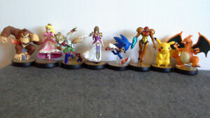 Ninetendo amiibos for Super Smash Bros (WiiU & 3DS) $8 to $40