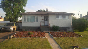 3 bdrm house with huge fenced back yard, great location