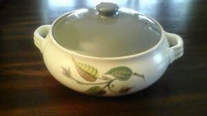 "DENBY STONEWARE POTTERY DISH ""SPRING"" MADE IN ENGLAND"