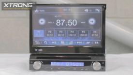 Xtrons D714g single Din flip out dvd player