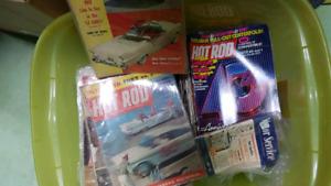 Vintage car enthusiast magazine bundle for sale