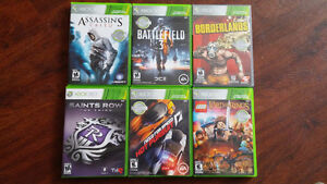 Xbox 360 games in Mint Condition