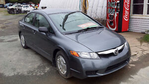 2009 Civic 4 Door ((NEW MVI)) LOW KMs 115XXX Call or Text 209-91