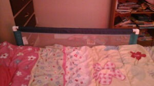 Easy to use bed rail