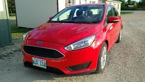 Like New 2015 Ford Focus SE 33km Hatchback SYNC Remote Start