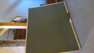 Tableau vert à craie