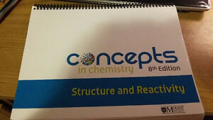 Concepts in Chemistry: Structure and Reactivity 8th edition