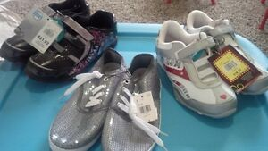 Girl Shoes Size 3 & 4 - All Brand New