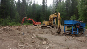 Cariboo Gold Mine, House 3.2 acres,& mining equipment, Turn Key