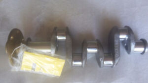 Crankshaft flanged certified C-85 continental  .010