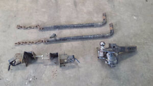 trailer hitch with stabilizer bars & other hitch