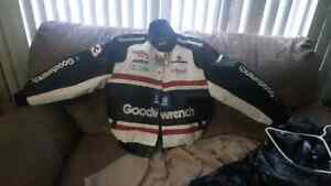 Dale Eranhardt Sr Last winston cup leather jacket new with tags