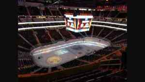$140 for the pair section 223 row 7 oilers vs ducks