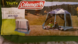 Coleman youth instant clip screen house