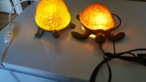 2 Turtle Lamps (Converted to LED)