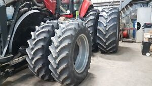 Firestone 710/70R42 Rear Duals + 480/70R34 Front Duals for MFWD