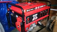 BRAND NEW never used 6500w gas generator King Canada