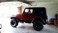1999 Jeep TJ lifted