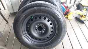 225-65-17 Michelin X-Ice, On Rims 5x114.3 Lexus RX 330,350,400 h