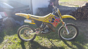 1993 Suzuki RM 125 Parts Bike