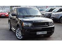 2010 LAND ROVER RANGE ROVER SPORT TDV8 SPORT HSE FACELIFT STUNNING VEHICLE WITH