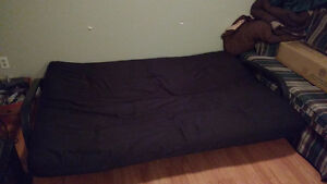 Futon for Sale - $60 (Pick-up only) Kitchener / Waterloo Kitchener Area image 1