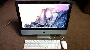 iMac 21.5 Quad Core i5 with CS6 Office 2016 Final cut and more