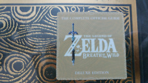 The Legend of Zelda Breath of The Wild Deluxe Edition