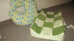 Nursing pillow and diaper changing pad
