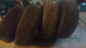 265/70/17 winter tires for sale. $300.