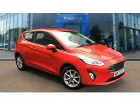 2018 Ford Fiesta 1.0 EcoBoost Zetec 3dr***With Bluetooth Connectivity*** Manual