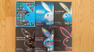 PLAYBOY PERFUME COLLECTION (NEVER USE)