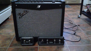 I have this Fender Amp,seeking help to program these pedals
