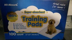 Pipi pads ultra absorbant!
