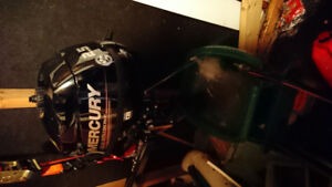 Almost New Mercury 2.5hp outboard motor