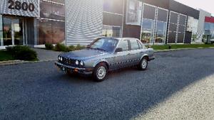 BMW 325i 1987 E30 manuel ou automatique, 124000 km originale