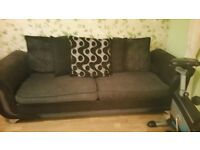 Dfs 4 seater sofa and cuddle chair