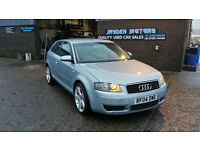 2004 AUDI A3 2.0 TDI SE,3 DR,COMPLIMENTED WITH FULL SERVICE HISTORY,