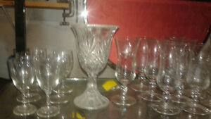 wine glasses(tumblers & stem ware) also beautiful wine rack Belleville Belleville Area image 4
