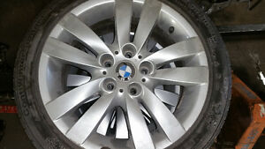 "BMW 17"" RIMS AND CONTI TIRES"