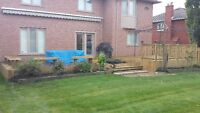 DISCOUNTED FENCE DECK AND POST HOLE 647-501-9685