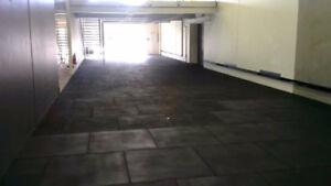 Rubber Durable Gym Flooring