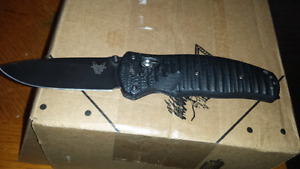 Used Benchmade volli 1000001 blk