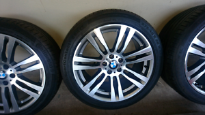 """BMW X5 GENUINE 20"""" WHEELS AND TYRES Condell Park Bankstown Area Preview"""