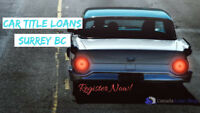 Get Valid and Reliable Car Title Loans Surrey BC