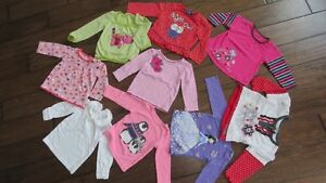 Baby girl tops clothes, Size 9-12 and 12-18