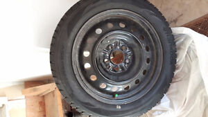 Selling my winter tires and steel rims
