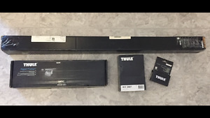 Brand New Thule AeroBlade Load Bars, Foot Pack, Locks & Fit Kit