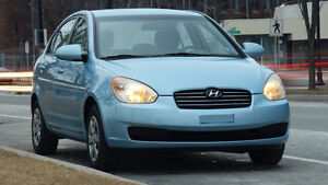 2008 Hyundai Accent GL Sedan ** Extremely low KMs **