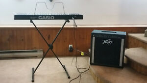 Combo Keyboard (Casio) et Amplificateur (Peavey) for sale